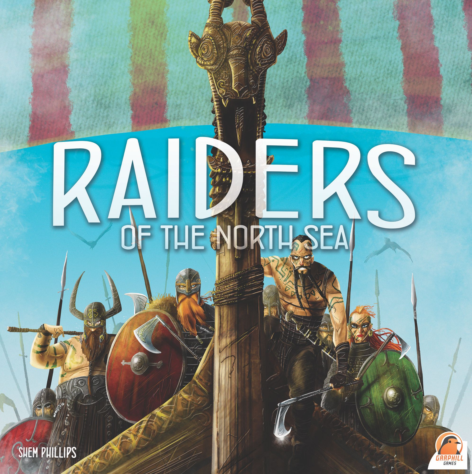 Buy Raiders of the North Sea only at Bored Game Company.