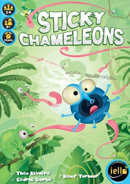 Buy Sticky Chameleons only at Bored Game Company.