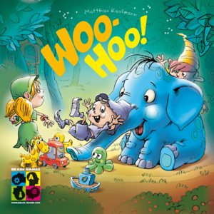 Buy Woo-Hoo! only at Bored Game Company.