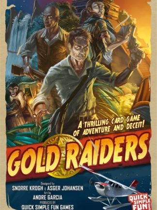Buy Gold Raiders only at Bored Game Company.