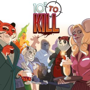 Buy 10' to Kill only at Bored Game Company.