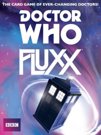 Buy Doctor Who Fluxx only at Bored Game Company.