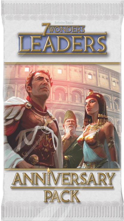 Buy 7 Wonders: Leaders Anniversary Pack only at Bored Game Company.