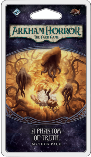 Buy Arkham Horror: The Card Game – A Phantom of Truth: Mythos Pack only at Bored Game Company.