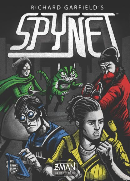 Buy SpyNet only at Bored Game Company.