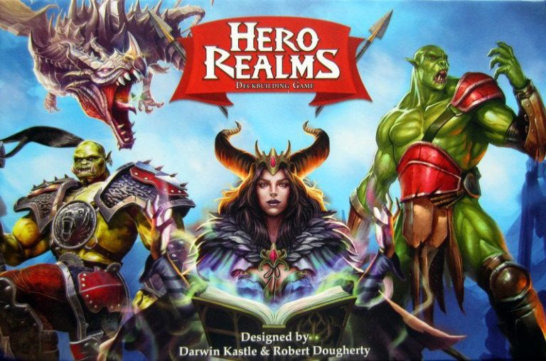 Buy Hero Realms only at Bored Game Company.