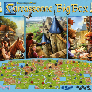 Buy Carcassonne Big Box 6 only at Bored Game Company.