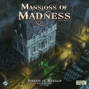 Buy Mansions of Madness: Second Edition – Streets of Arkham Expansion only at Bored Game Company.