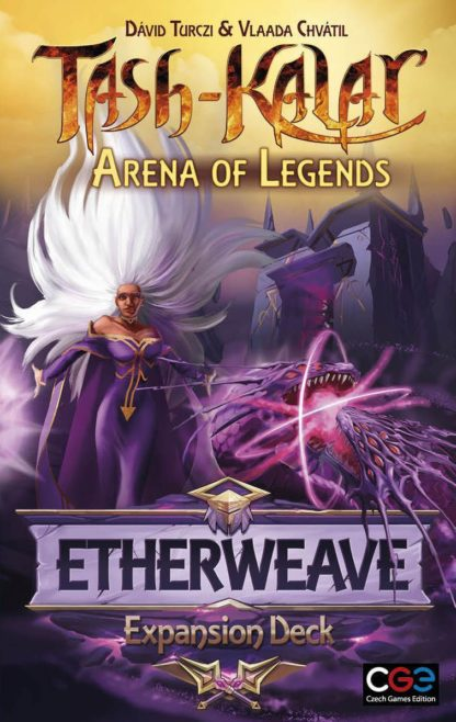 Buy Tash-Kalar: Arena of Legends – Etherweave only at Bored Game Company.