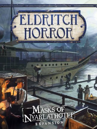 Buy Eldritch Horror: Masks of Nyarlathotep only at Bored Game Company.