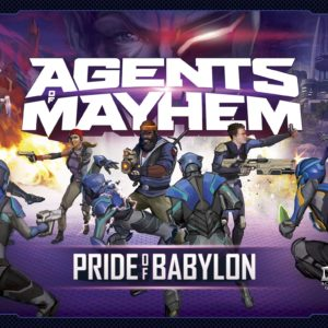 Buy Agents of Mayhem: Pride of Babylon only at Bored Game Company.