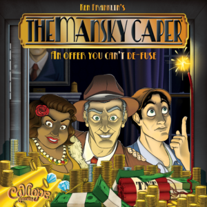Buy The Mansky Caper only at Bored Game Company.