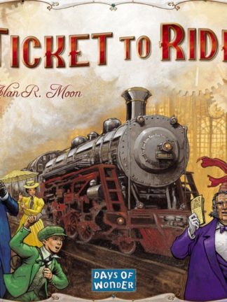 Buy Ticket to Ride only at Bored Game Company.