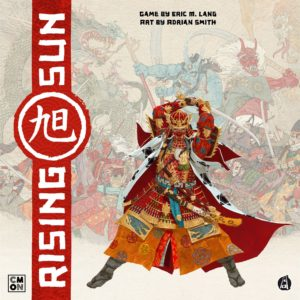 Buy Rising Sun only at Bored Game Company.