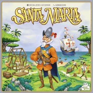 Buy Santa Maria only at Bored Game Company.