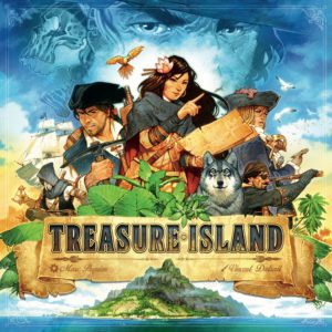 Buy Treasure Island only at Bored Game Company.