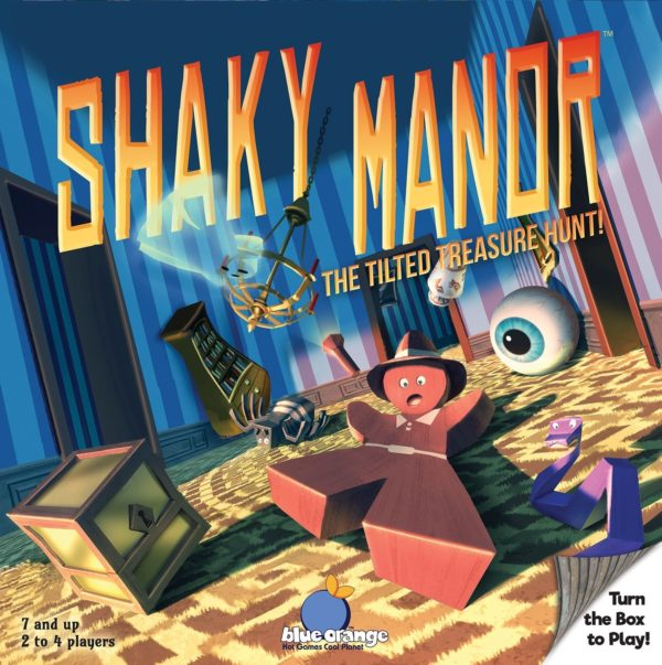 Buy Shaky Manor only at Bored Game Company.