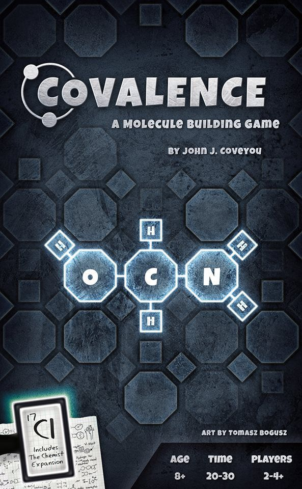Buy Covalence: A Molecule Building Game only at Bored Game Company.