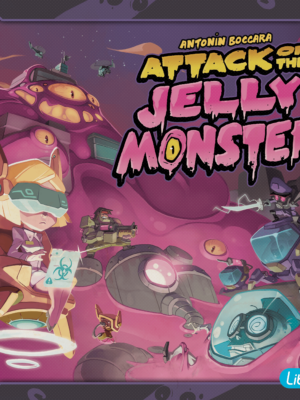 Buy Attack of the Jelly Monster only at Bored Game Company.