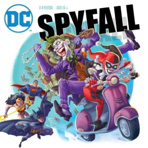 Buy DC Spyfall only at Bored Game Company.