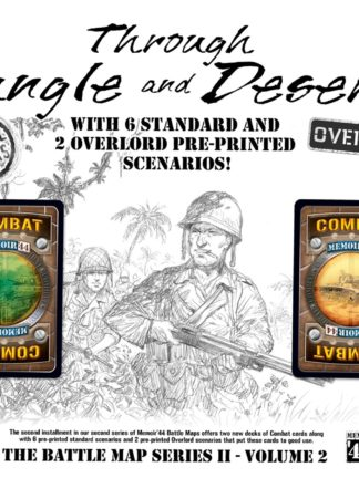 Buy Memoir '44: Through Jungle and Desert only at Bored Game Company.