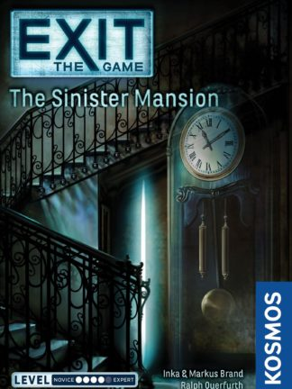 Buy Exit: The Game – The Sinister Mansion only at Bored Game Company.