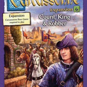 Buy Carcassonne: Expansion 6 – Count, King & Robber only at Bored Game Company.