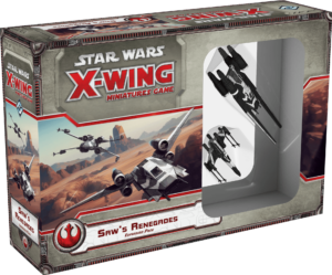Buy Star Wars: X-Wing Miniatures Game – Saw's Renegades Expansion Pack only at Bored Game Company.