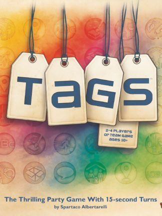 Buy TAGS only at Bored Game Company.