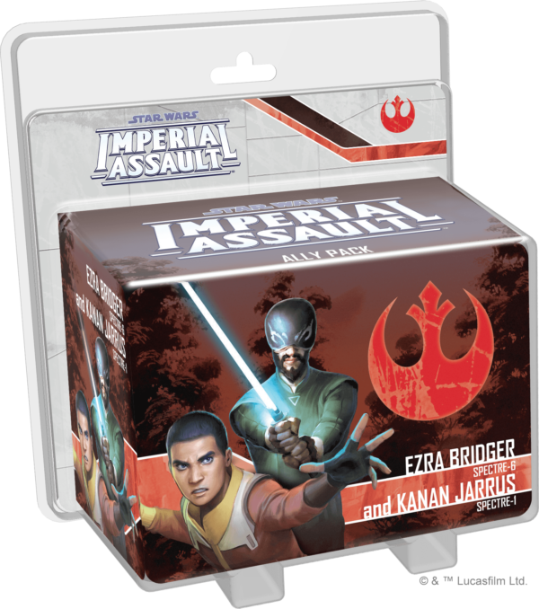 Buy Star Wars: Imperial Assault – Ezra Bridger and Kanan Jarrus Ally Pack only at Bored Game Company.