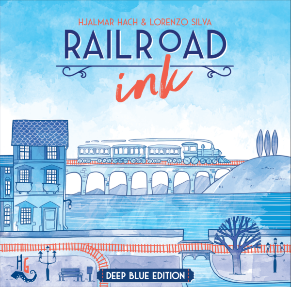 Buy Railroad Ink: Deep Blue Edition only at Bored Game Company.