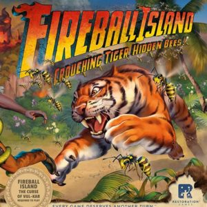 Buy Fireball Island: The Curse of Vul-Kar – Crouching Tiger, Hidden Bees! only at Bored Game Company.