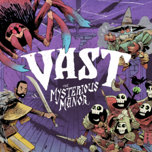 Buy Vast: The Mysterious Manor only at Bored Game Company.
