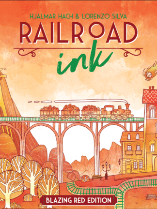 Buy Railroad Ink: Blazing Red Edition only at Bored Game Company.