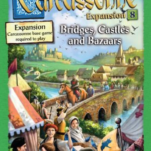 Buy Carcassonne: Expansion 8 – Bridges, Castles and Bazaars only at Bored Game Company.