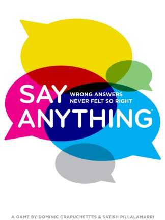 Buy Say Anything only at Bored Game Company.