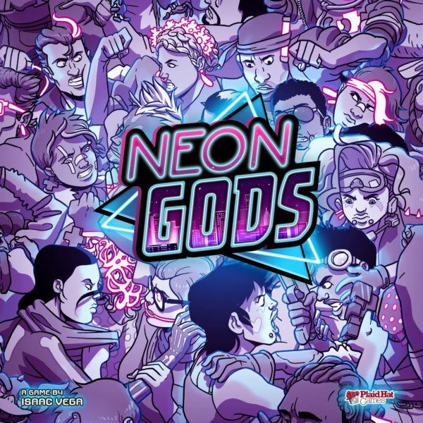 Buy Neon Gods only at Bored Game Company.