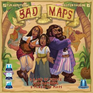 Buy Bad Maps only at Bored Game Company.
