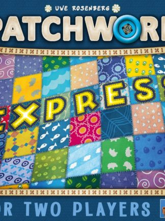 Buy Patchwork Express only at Bored Game Company.