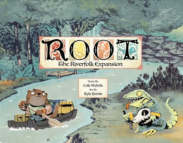 Buy Root: The Riverfolk Expansion only at Bored Game Company.