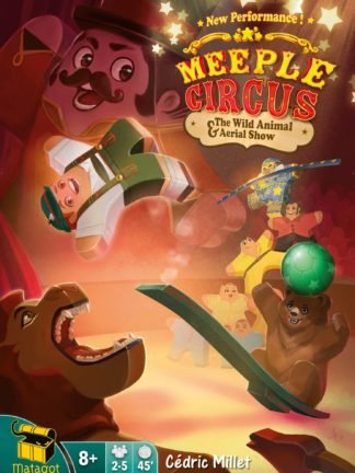 Buy Meeple Circus: The Wild Animal & Aerial Show only at Bored Game Company.