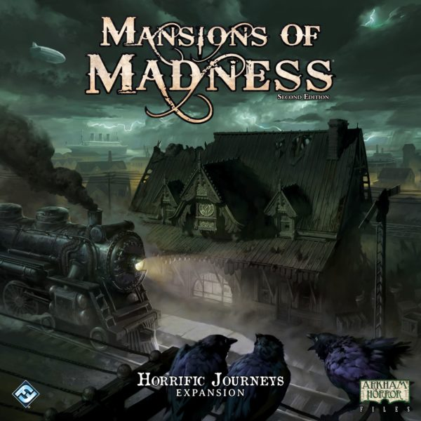 Buy Mansions of Madness: Second Edition – Horrific Journeys: Expansion only at Bored Game Company.