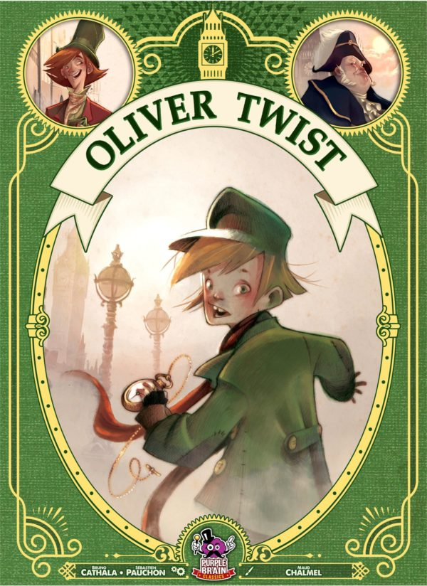 Buy Oliver Twist only at Bored Game Company.