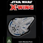 Buy Star Wars: X-Wing (Second Edition) – Lando's Millennium Falcon Expansion Pack only at Bored Game Company.