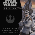 Buy Star Wars: Legion – 1.4 FD Laser Cannon Team Unit Expansion only at Bored Game Company.
