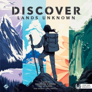 Buy Discover: Lands Unknown only at Bored Game Company.