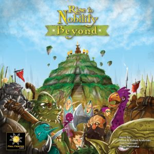 Buy Rise to Nobility: Beyond only at Bored Game Company.