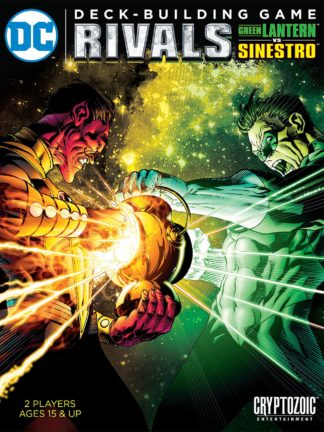 Buy DC Comics Deck-Building Game: Rivals – Green Lantern vs Sinestro only at Bored Game Company.