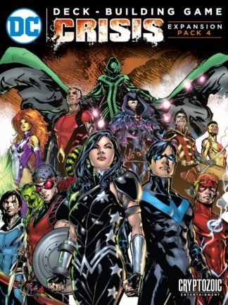 Buy DC Comics Deck-Building Game: Crisis Expansion Pack 4 only at Bored Game Company.