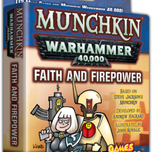 Buy Munchkin Warhammer 40,000: Faith and Firepower only at Bored Game Company.